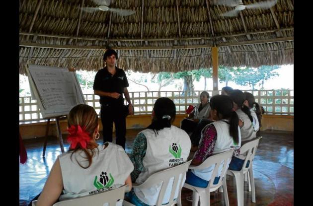 Capacitación del Instituto Colombiano de Bienestar Familiar.