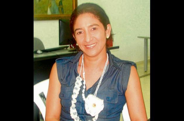 Blanca Muñoz, secretaria de cultura.