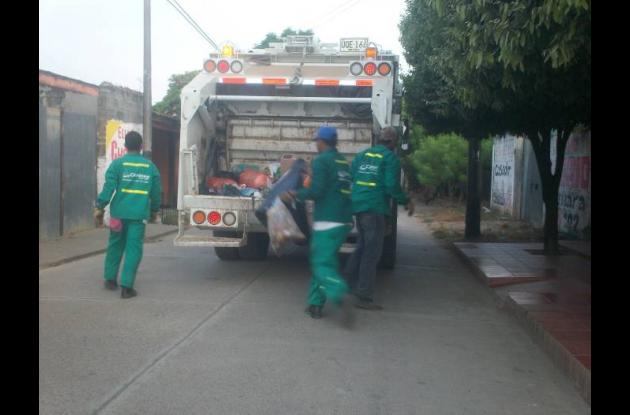 Campaña de recolección de basuras en Cereté.