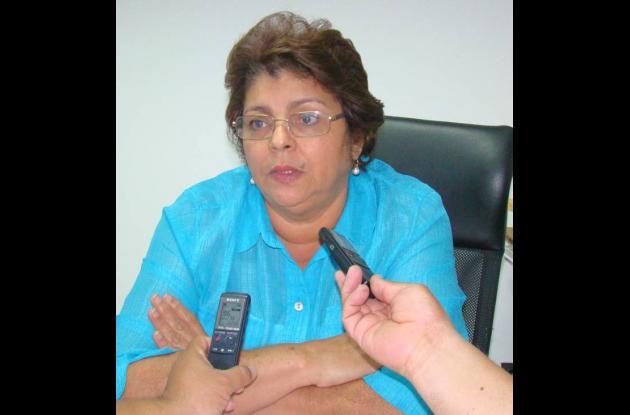 Nohemí Carrascal, secretaria de Educación de Córdoba.