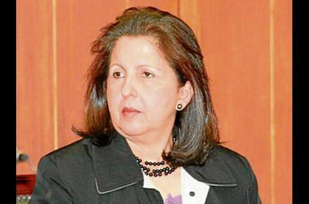Nora García Burgos, senadora.