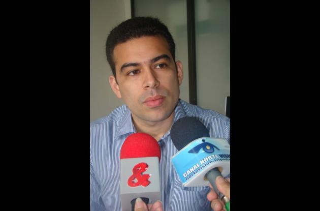 Carlos Gómez Espitia, secretario jurídico.