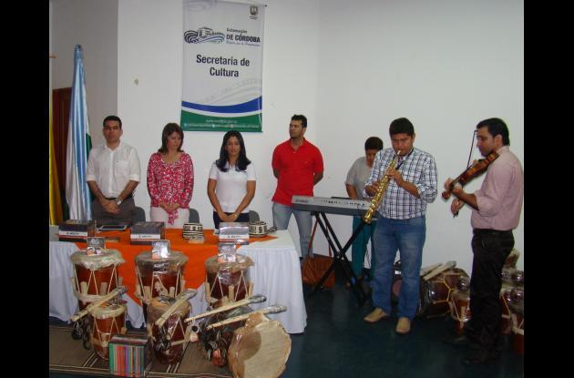 SEMILLEROS DE MÚSICA, ENTREGA DE INSTRUMENTOS MUSICALES