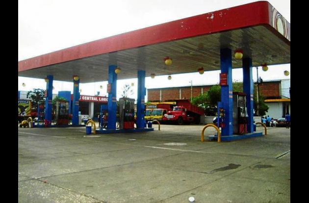 Una de las seis estaciones de gasolina de Lorica fue cerrada