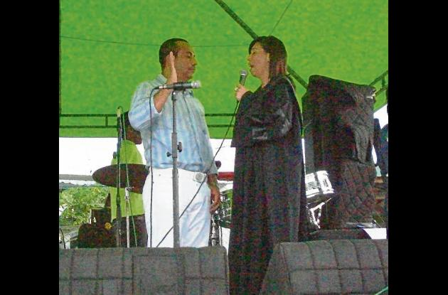 Félix Gutiérrez Córdoba, se posesionó Elsa Pacheco Bedoya.