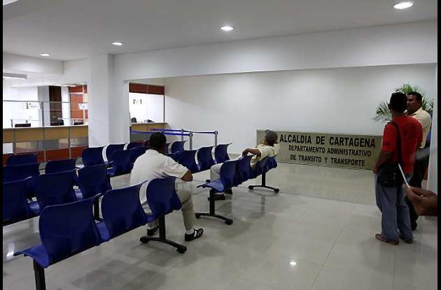 Sede del DATT en Centro Comercial Ronda Real en Cartagena