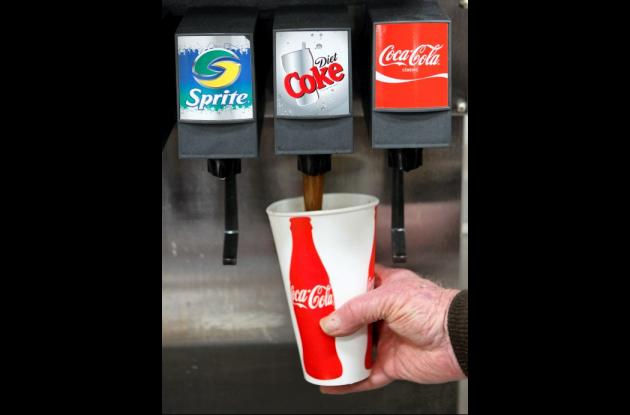 Coca Cola supera a Pepsi en ventas de gaseosas en Estados Unidos.