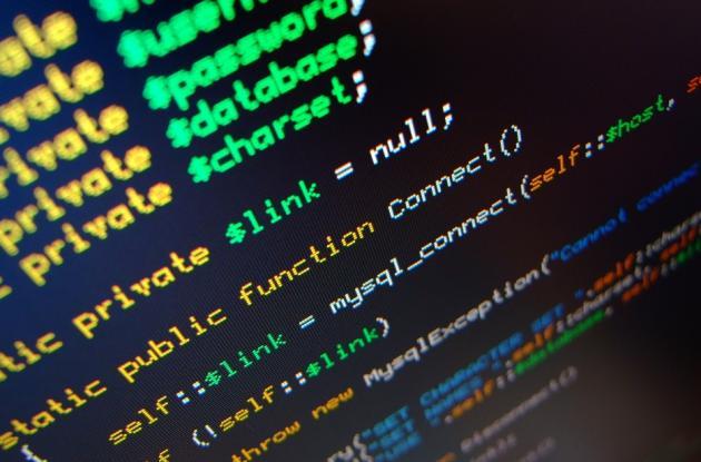 Programación en código abierto.