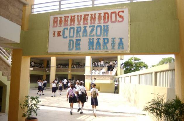 Protestas en colegio Corazón de María