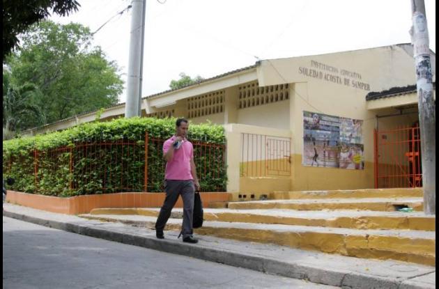 Fachada de Colegio Soledad Acosta de Samper.