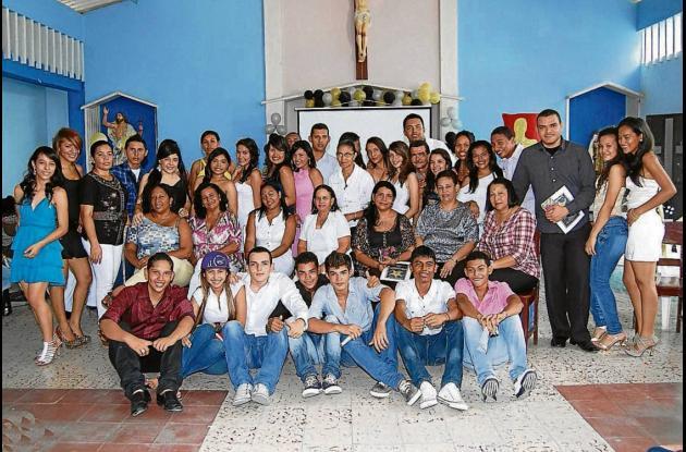 Homenaje a maestros del Colegio Trinitario