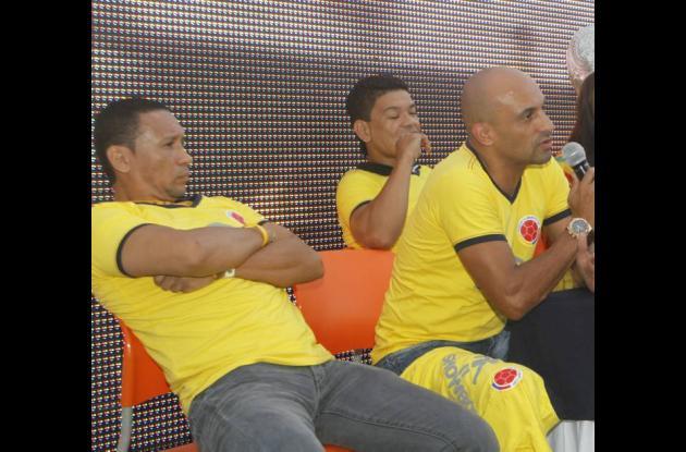 Henry Zambrano, Diego León Osorio y Oswaldo Mackenzie.