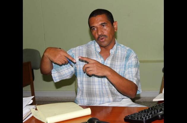 Edwin Marsiglia, comisario de familia de Cartagena.