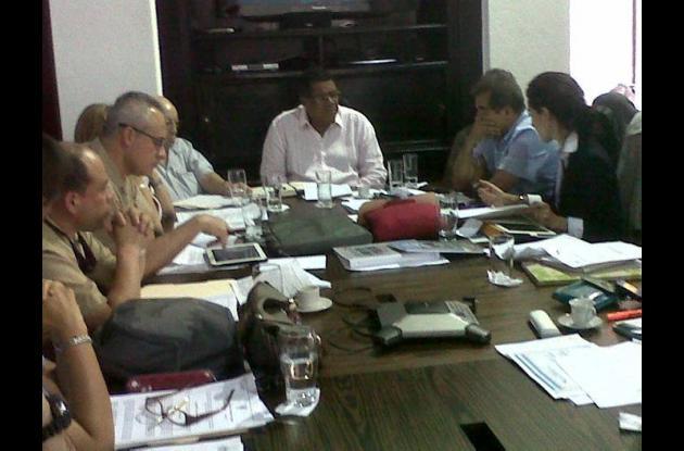 Reunión de Comité para el manejo de las zonas costeras de los Distritos.