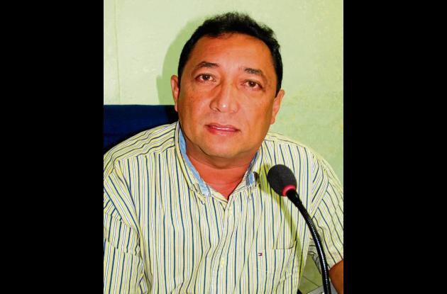 Noraldo Montes, presidente del Concejo.
