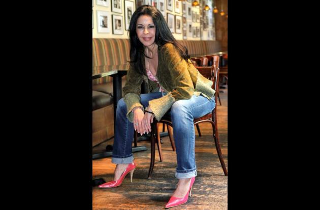 La cantante y actriz María Conchita Alonso