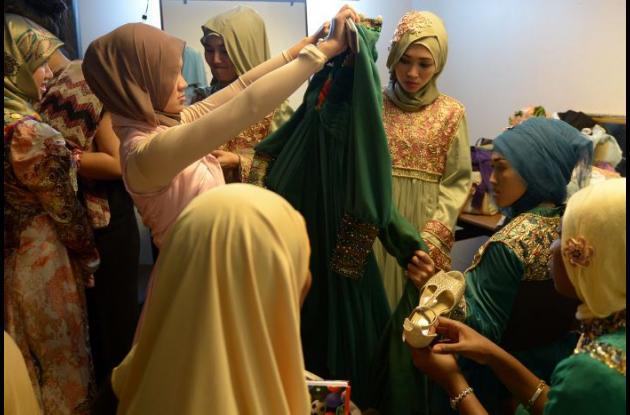 Concurso de belleza en Indonesia