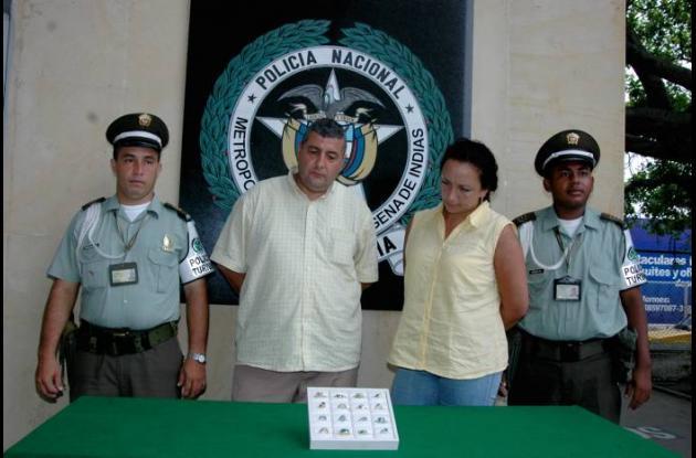 José Humberto Ramírez y Ángela Marisol Rocha Salgado.