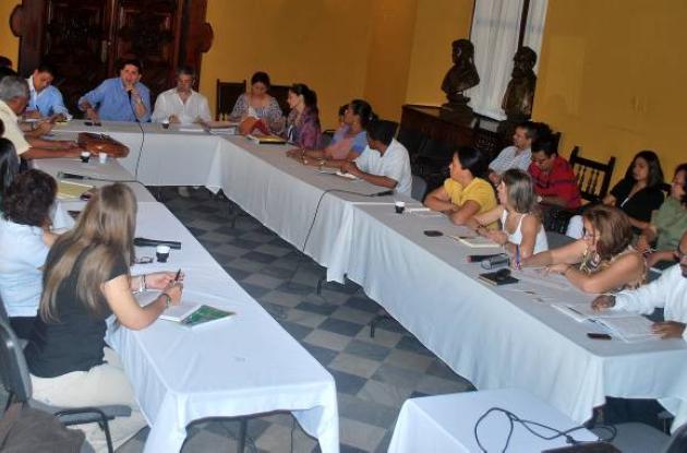 El gobernador Gossaín instaló el Consejo Territorial de Planeación