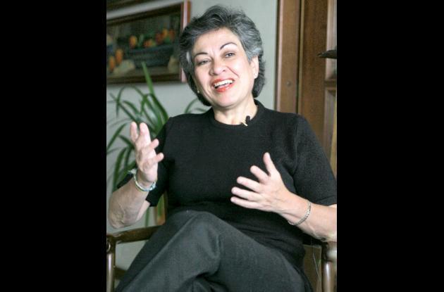 Consuelo González de Perdomo, excongresista.