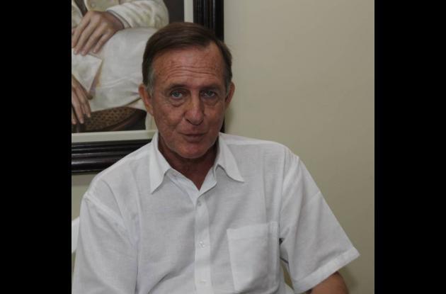 El cónsul español Juan Antonio Martínez-Cattaneo y Hingston.
