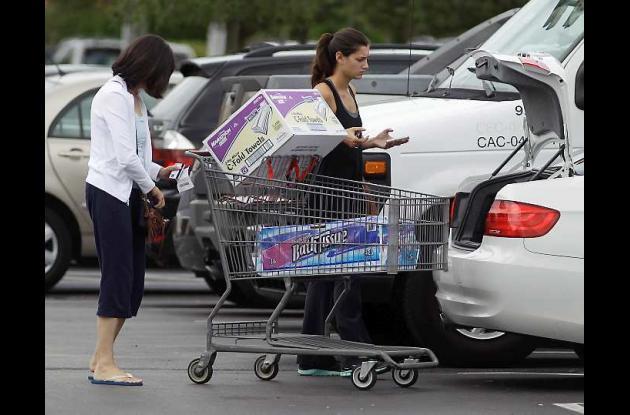 Los estadounidenses siguen gastando a ritmo acelerado.