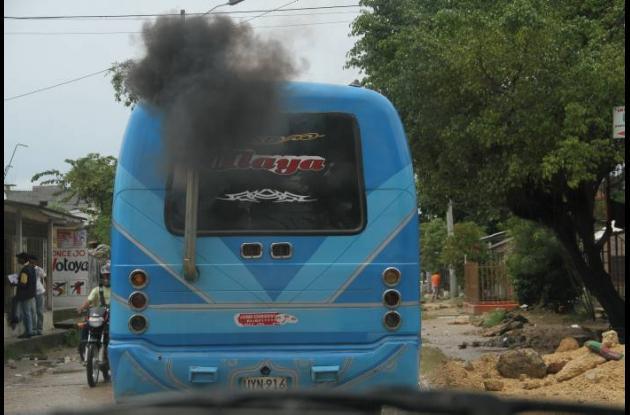 Se reducirán las emisiones de gases y particulas contaminantes de camiones Diese