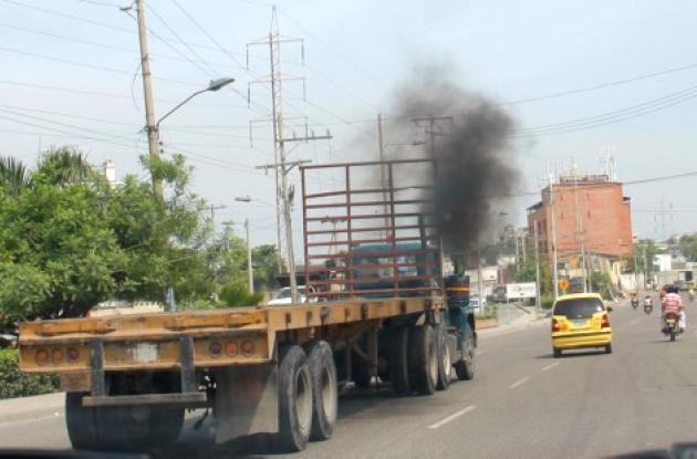 En Cartagena, rueda la contaminación ambiental
