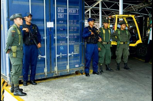 El contenedor con la droga salió del Valle del Cauca y tenía como destino final