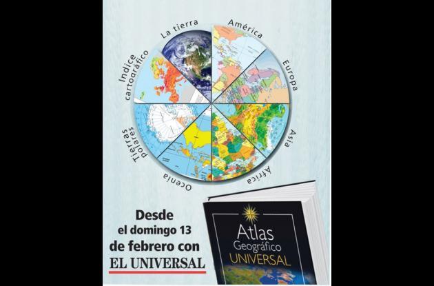 Contraportada de Atlas Geográfico Universal