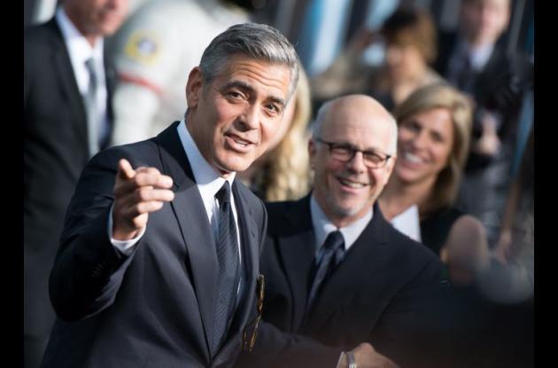 Steven Spielberg y George Clooney