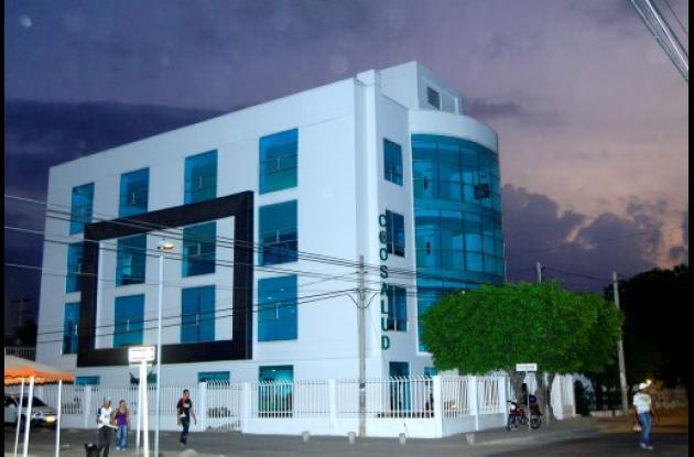 Sede de Coosalud en el barrio Olaya Herrera.