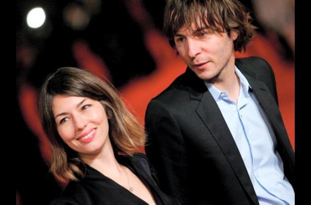 La directora de cine estadounidense Sofia Coppola y el cantante francés Thomas M