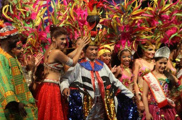 Carnaval de Barranquilla: la reina coronó al Rey Momo