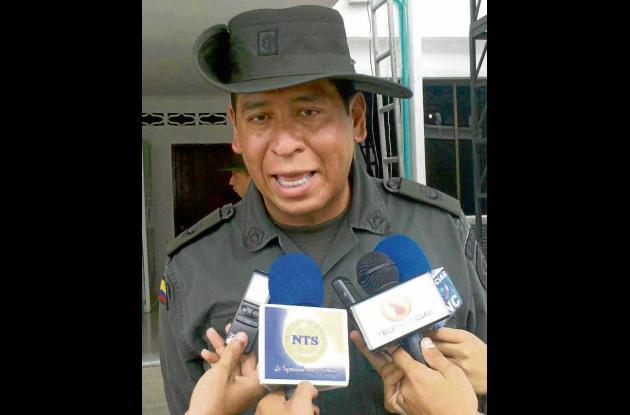 Coronel Salvador Gutiérrez Lombana, próximo Comandante Policía Sucre.