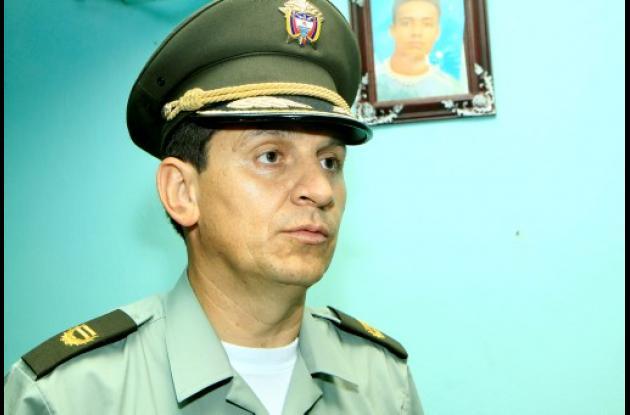 El coronel Hugo Casas, asume hoy como comandante de la Policía de Bolívar.