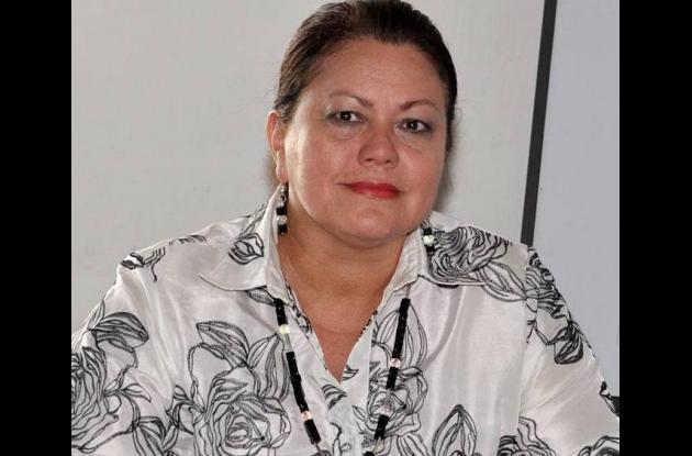 Clara Calderón, directora de Valorización.