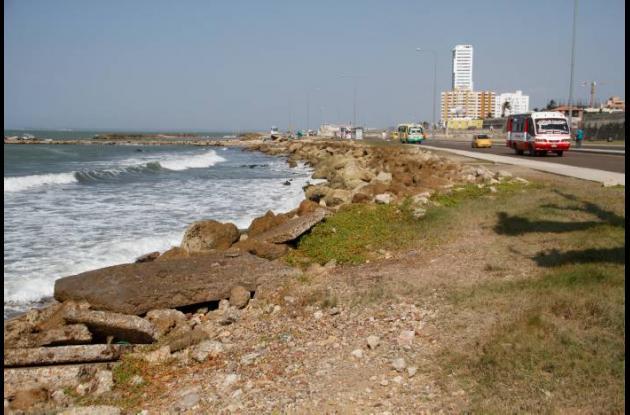 La recuperación de la zona costera