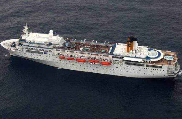El crucero italiano Costa Allegra.