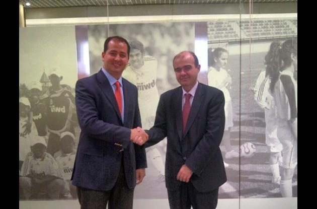 Marcos Daniel Pineda García y Julio González Ronco