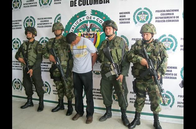Euclides Cordero, alias 'Silvestre', presunto integrante de 'los Urabeños'
