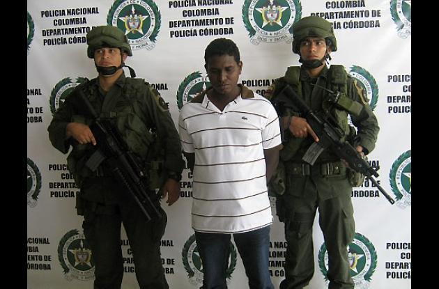 """Jhon Jairo Varela Castro, alias """"Pana Negra""""."""