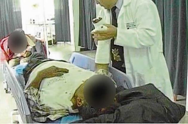 A Eduardo Padilla lo dejaron medio muerto después de una paliza.