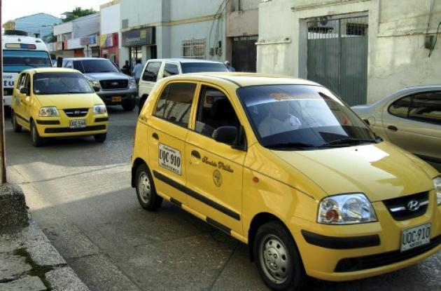 tarifas de taxis en Montería