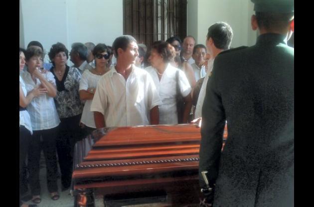 sepelio del ganadero Gustavo Menesas, asesinado