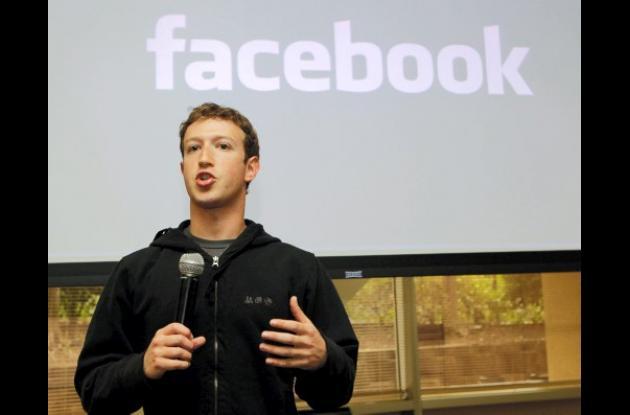 Mark Zuckerberg, creador de Facebook.