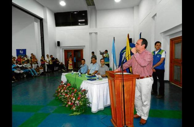 Ramiro Arias Mora, presidente del FNA.