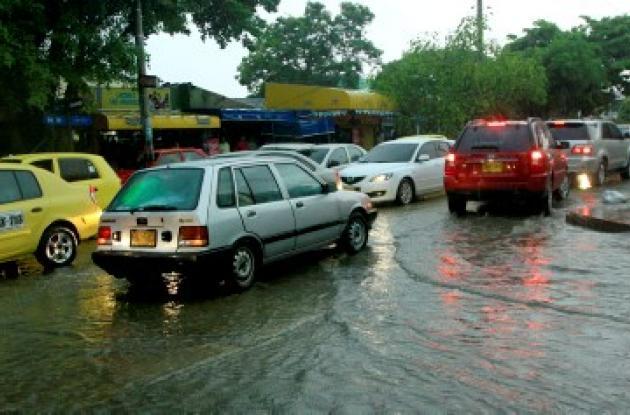 tráfico vehicular se vio afectado en Crespo