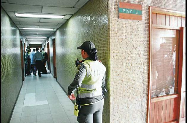 El crimen ocurrió en el tercer piso del edificio Banco del Estado, donde trabaja