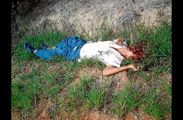 En Las Palomas, corregimiento de Montería, fueron asesinadas varias personas.